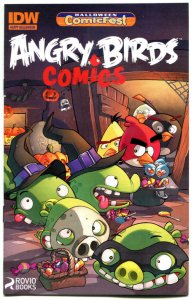 ANGRY BIRDS Halloween ashcan, Promo, 2014, NM, more IDW in store
