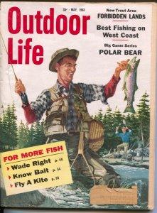 Outdoor Life 6/1961-Popular Science-hunting & fishing-forbidden lands-VG