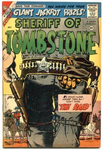 Sheriff of Tombstone #4 1959-Charlton western comic- VF