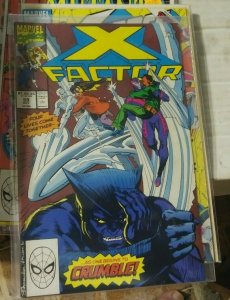 X-Factor  # 59 1990 marvel  CYCLOPS  BEAST   JEAN GRAY ARCHANGEL  XMEN