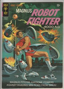 Magnus Robot Fighter #17 (Feb-67) VG+ Affordable-Grade Magnus Robot Fighter