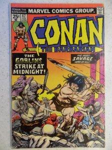 CONAN THE BARBARIAN # 47 MARVEL SAVAGE SWORD FANTASY
