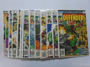 Defenders (1st Series) 19 Different #42-85 Average 7.5 Range 7.0-8.0 (1976-1980)