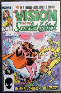 The Vision and the Scarlet Witch #5 (1986)