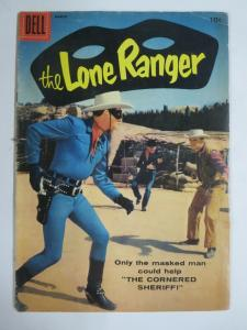 LONE RANGER #117 (Dell,3/1958) (GOOD-VERY GOOD;G-VG)  Photo Cover!