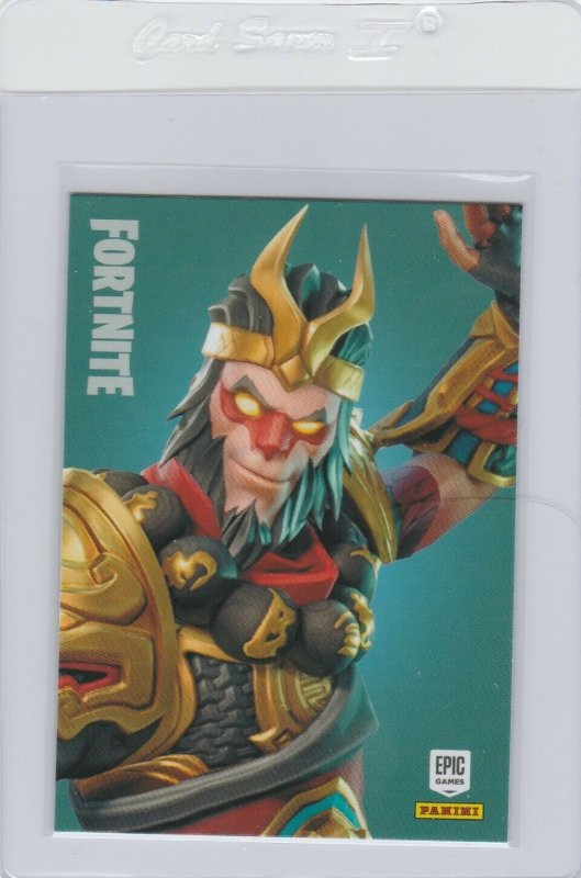 Fortnite Wukong 299 Legendary Outfit Panini 2019 trading card series 1