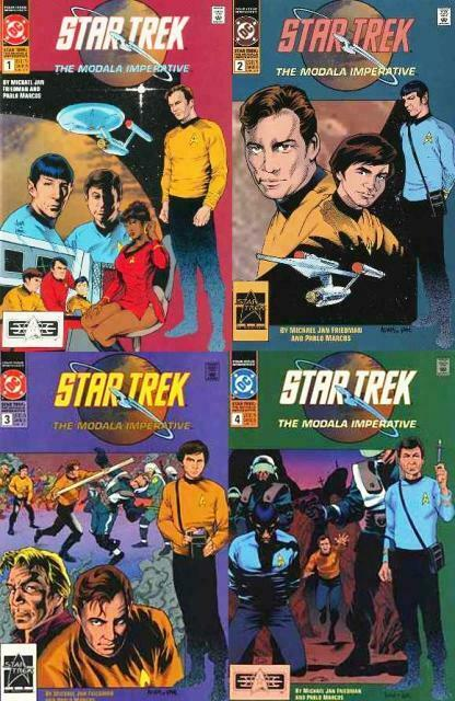 STAR TREK MODALA IMPERATIVE (1991) 1-4  complete series