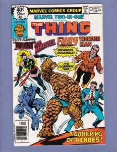 Marvel Two-In-One #51 NM- Frank Miller Art Ms Marvel Thing Beast Marvel 1979