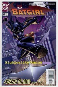 BATGIRL #58, NM+, Good Girl, 2005, Robin, Batman, Fresh Blood, more BG in store