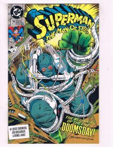 Superman Man Of Steel # 18 NM 1st Print DC Comic Book 1st Doomsday App. KEY TW13