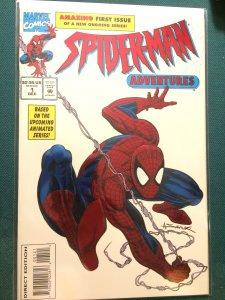 Spider-Man Adventures #1 metallic embossed cover