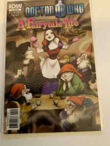 Doctor Who A Fairytale Life #1 Retailer Incentive Cover Near Mint.