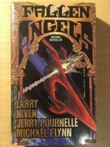 3 Books Fallen Angels Our Man in Havana Ben Bova Voyagers Sci Fi Fantasy MFT2