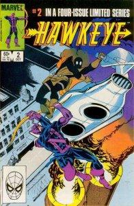 Hawkeye (1983 series) #2, VF- (Stock photo)