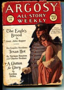 Argosy-Pulps-1/28/1928-George M. Johnson-Slatter LaMaster