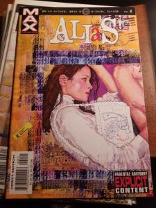 Alias #2, Jessica Jones  Marvel Comic Book  1st Print, 2001-NM