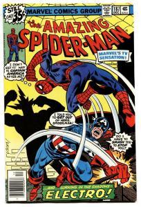 AMAZING SPIDER-MAN #187-comic book 1978-CAPTAIN AMERICA-MARVEL