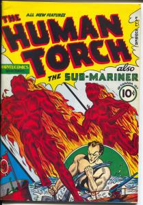 Flashback #21 1970's-Reprints The Human Torch #1 from 1940-NM
