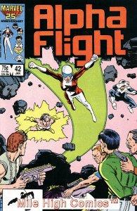 ALPHA FLIGHT (1983 Series)  #42 Very Fine Comics Book
