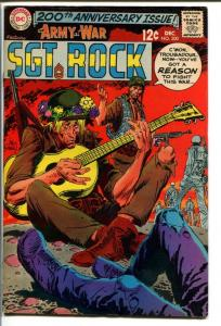 OUR ARMY AT WAR #200-SGT. ROCK-COOL ISSUE VG+