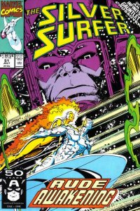 Silver Surfer (1987 series) #51, NM + (Stock photo)