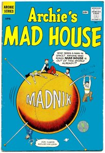 ARCHIE'S MAD HOUSE #11 (Apr1961) 4.0 VG • Rapid-Fire Teenage Jokes and Satires