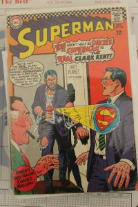 Superman #198 (DC, 1967) Condition: FN