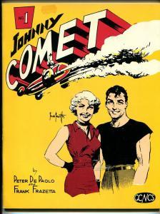 Johnny Comet #1 1967-1st issue-Frazetta-Peter De Paolo-midget auto races-FN
