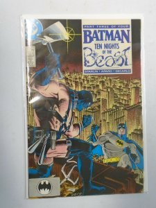 Batman #419 4.0 VG water damaged (1988)