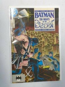 Batman #419 4.0 VG water damaged (1988)
