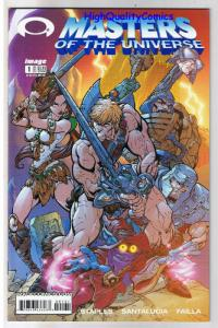 MASTERS of the UNIVERSE #1, NM-, MOTU, He-Man, Staples, 2002