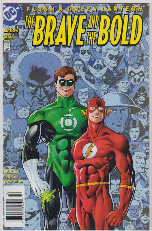 Brave and the Bold #1 - #6 lot Modern and Golden Age Green Lantern and Flash NM+