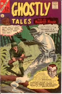 GHOSTLY TALES (1966-1984) 57 FINE Ditko art COMICS BOOK