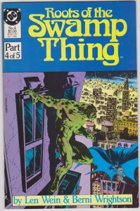 Roots of the Swamp Thing #4 (1986)
