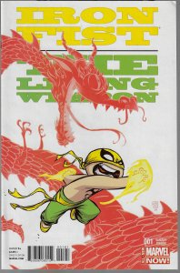 Iron Fist: The Living Weapon #1 (Marvel, 2013) Skottie Young Baby Variant