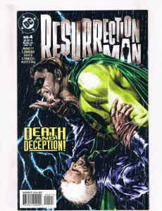 Ressurection Man #4 NM DC Comics Comic Book Abnett Aug 1997 DE33 CH19