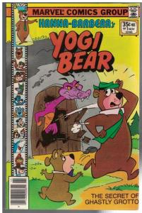 YOGI BEAR (1977 MARVEL) 1 FN+  Nov. 1977
