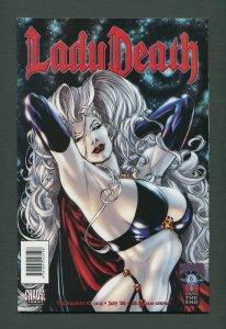 Lady Death Rapture #2  /   9.6 NM+  /  June 1999