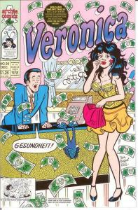 VERONICA (1989)25 VF-NM Dec. 1992 COMICS BOOK