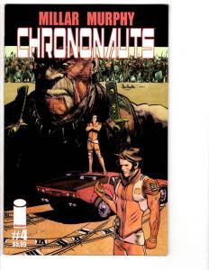 2 Image Comic Books Chrononauts # 4 Five Ghosts # 6 Mark Millar Barbiere WM7