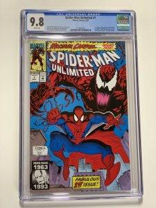 Spider-man Unlimited 1 Cgc 9.8 White Pages 1st Shriek Marvel