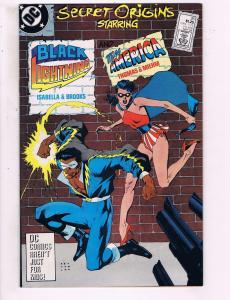Secret Origins Starring Black Lighting & Miss America #28 VF DC Comic Book DE13