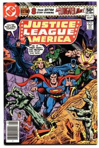 JUSTICE LEAGUE OF AMERICA #182 comic book 1980- Superman- Batman DC nm-