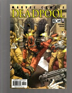 Deadpool # 69 NM Marvel Comic Book X-Force X-Men Wolverine Storm Gambit RP5