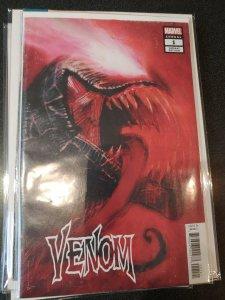 Venom Annual #1 Bill Sienkiewicz Variant Marvel Comic 1st Print 2018  NM