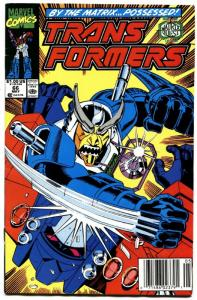 TRANSFORMERS #66-1990-later issue-htf-marvel.