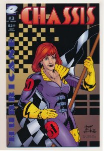 Chassis (1996 1st Series Millennium/Expand) #3 VF Last issue of the series
