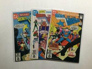 Secrets Of The Legion Of Super-Heroes 1-3 1 2 3 Lot Near Mint Nm Dc Comics