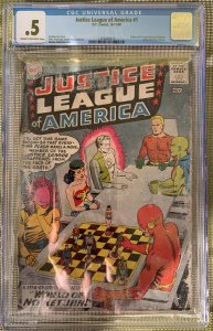 JUSTICE LEAGUE OF AMERICA #1 CGC .5 or 0.5 -- 1ST DESPERO! COMPLETE! FOX