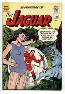 Adventures of the Jaguar #5 1962- Archie- CAT GIRL cover-GGA